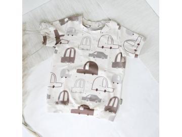 Basic-Shirt schmal, kurzarm diverse Farben
